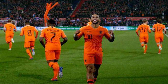 هولندا تتغلب برباعية على بيلاروس في تصفيات أوروبا 2020 الكروية