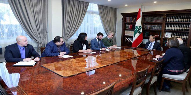 عون:البعض يسعى لوضع عراقيل في وجه عودة المهجرين السوريين