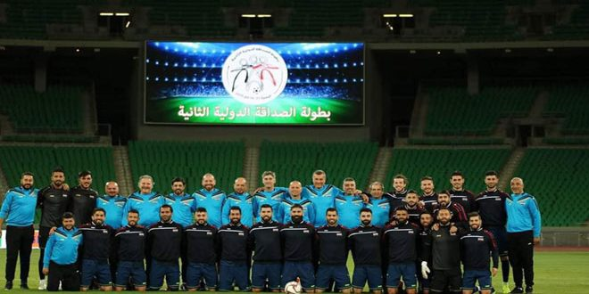 منتخب سورية يخسر أمام نظيره العراقي بدورة الصداقة الودية الدولية