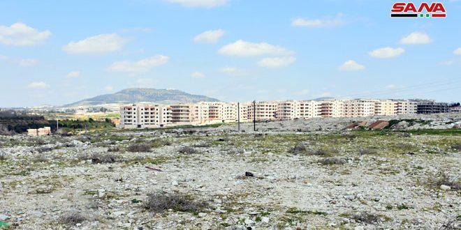 مشروع سكني واعد في موقع وادي الجوز بمدينة حماة
