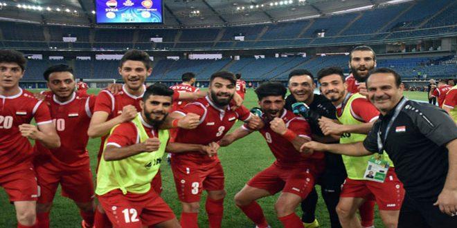 منتخب سورية الأولمبي يواجه نظيره الكويتي اليوم بتصفيات آسيا