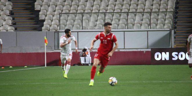 منتخب سورية يتعادل سلبياً مع نظيره الإماراتي