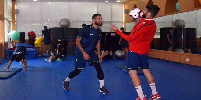 الأولمبي السوري يواجه نظيره الأردني في تصفيات آسيا