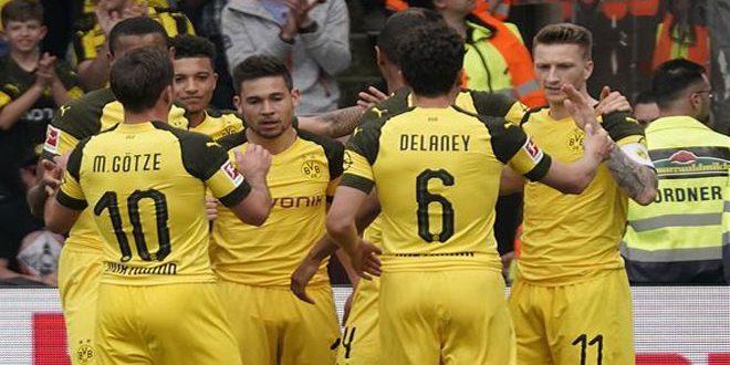 دورتموند يفوز على فرايبورج بأربعة أهداف دون رد في الدوري الألماني