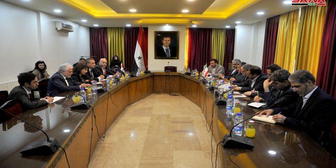 مباحثات برلمانية سورية إيرانية: تعزيز المواقف المشتركة في وجه المخططات