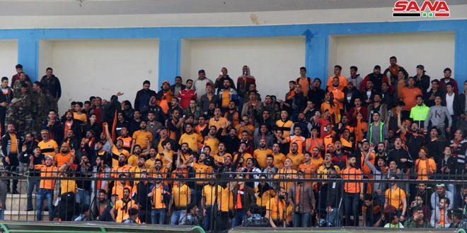 تشرين يفوز على المجد ويعزز صدارته للدوري الممتاز لكرة القدم