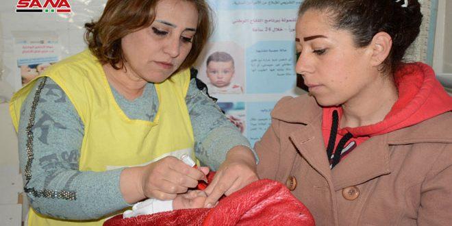 وزارة الصحة تطلق أيام التلقيح الوطنية