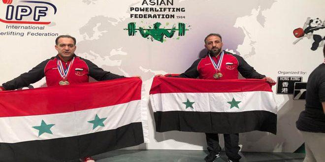 إحدى عشرة ميدالية لسورية في بطولة آسيا للقوة البدنية