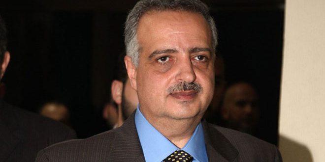 أرسلان: سورية انتصرت على الإرهاب