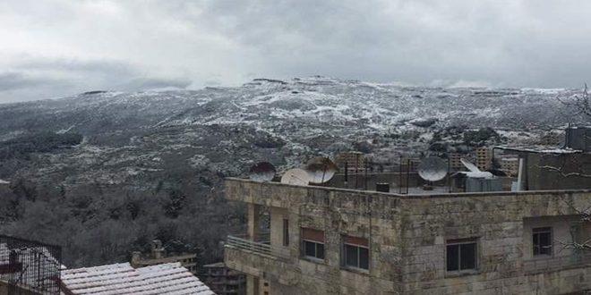 الأرصاد: ثلوج متوقعة على المرتفعات الجبلية.. والمنخفض يبلغ ذروته الأحد
