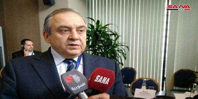 موراتوف: سورية لها مكانة خاصة ونرحب بترسيخ علاقات الصداقة معها