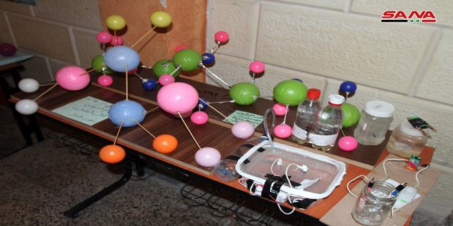 معرض يترجم إبداعات وأفكار الطلاب العلمية والفنية
