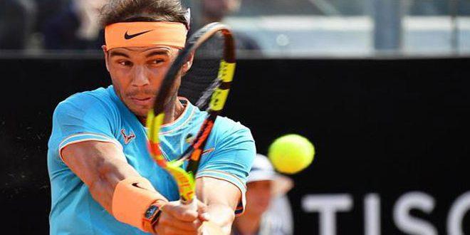 نادال يتوج بلقب بطولة روما المفتوحة للتنس