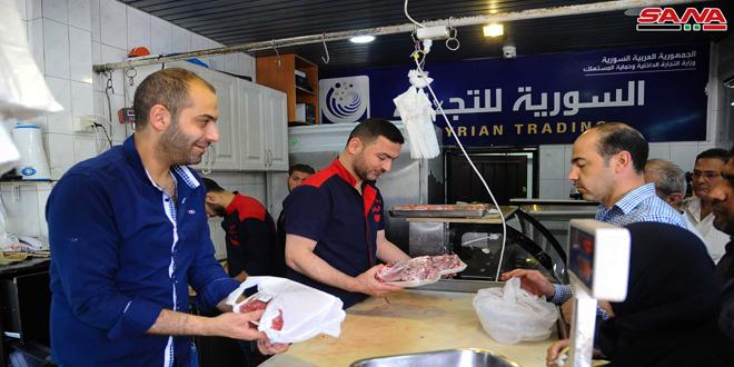 السورية للتجارة تتدخل إيجابياً بسوق اللحوم