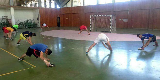 مركزان تدريبيان يسهمان بعودة لعبة كرة اليد في اللاذقية