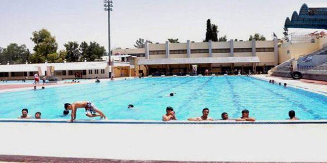 مسبح الجلاء يبدأ استقبال رواده اليوم ومدارسه الصيفية في الأول من الشهر القادم