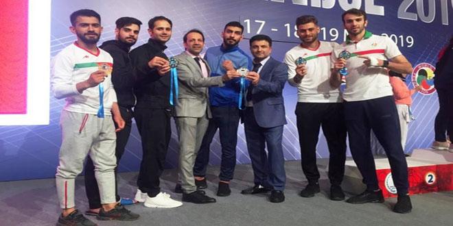 إيران تتوج ببطولة الدوري العالمي للكاراتيه