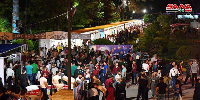 120 شركة سورية في مهرجان الصيف بحلب