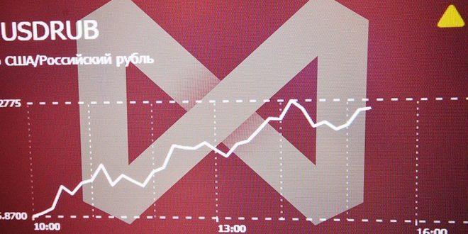 صعود الروبل… وبورصة موسكو تحلق إلى مستويات قياسية