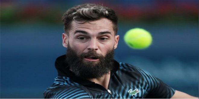 الفرنسي بير يحرز لقب بطولة ليون المفتوحة للتنس