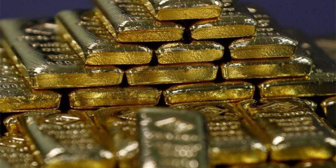 الذهب يسجل أعلى مستوى في أسبوع