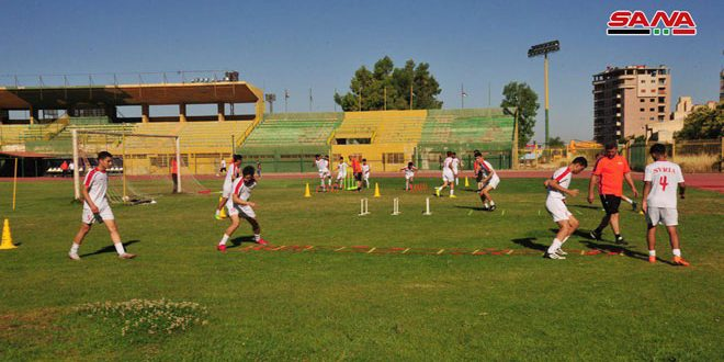 منتخب سورية بكرة القدم للناشئين يبدأ معسكرا تدريبيا في السويداء تحضيرا للاستحقاقات الخارجية
