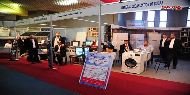 الصناعة تحجز 443 متراً مربعاً لمؤسساتها وشركاتها في معرض دمشق الدولي