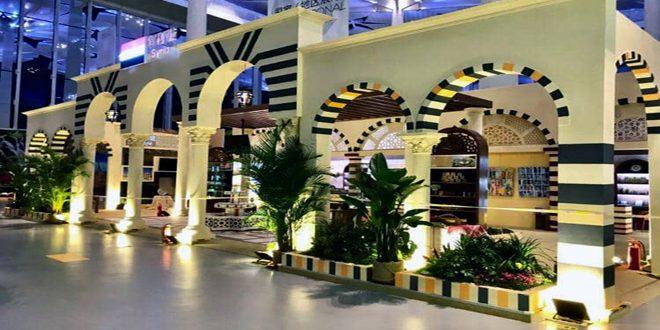 الجناح السوري في معرض (إكسبو بكين للبستنة)… طابع تراثي وعامل جذب سياحي