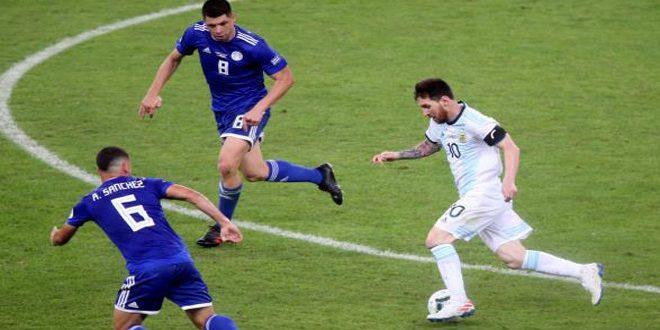 باراغواي تزيد معاناة الأرجنتين بتعادل مثير في كوبا أمريكا