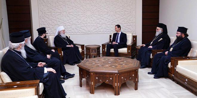 Асад: Србија и Сирија подвргнуте покушајима спољне интервенције како би се уништио суверенитет, али се народ наших земаља супротставља агресорима 2