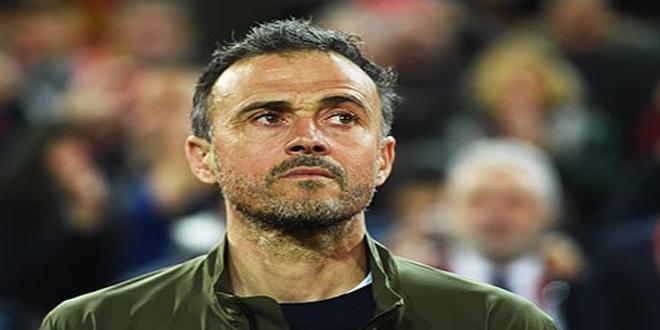 استقالة إنريكي من تدريب منتخب إسبانيا