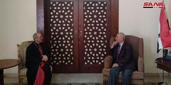 أسقف الإسكندرية للأرمن الكاثوليك: سورية كانت ولا تزال أرض السلام