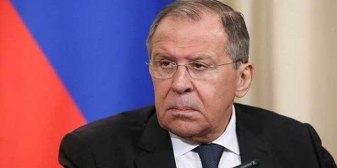لافروف: الولايات المتحدة تحاول إطالة أمد الأزمة في سورية