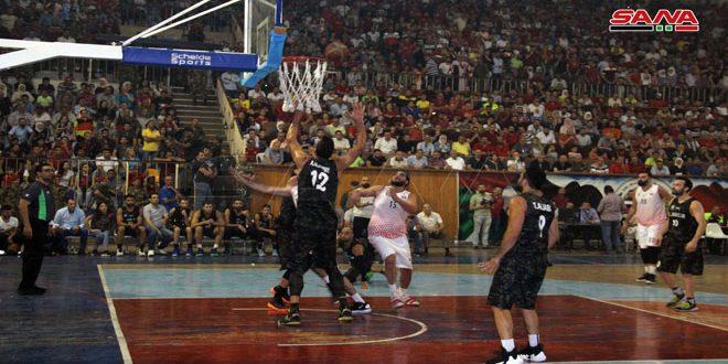 فوز الوحدة على الجلاء والجيش على الاتحاد في الدوري العام لكرة السلة