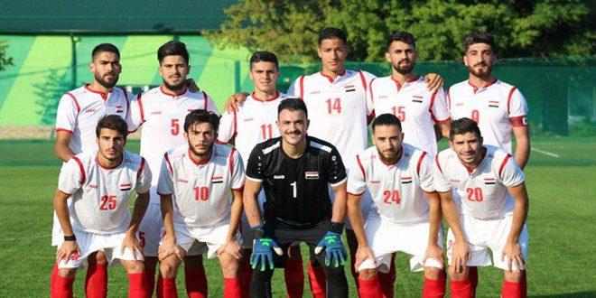 منتخب سورية الأولمبي يواصل معسكره الخارجي في مدينة كراسنودار الروسية
