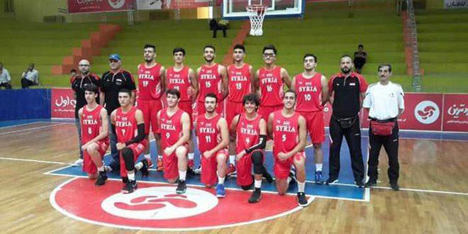 فوز منتخب سورية لكرة السلة تحت 17عاما على قطر بدورة إيران الودية