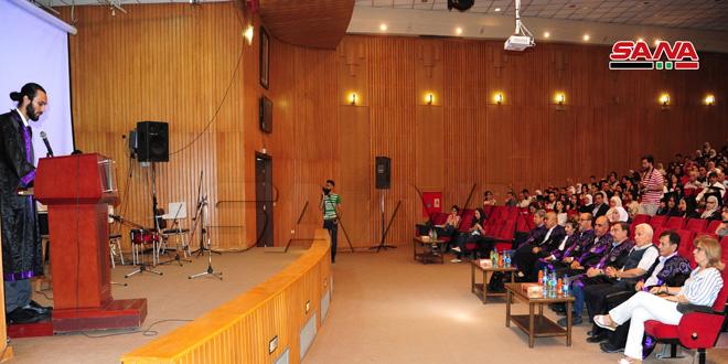 دفعة (لنعمرها).. كلية الهندسة المعمارية بجامعة دمشق تحتفل بتخريج 320 من طلابها