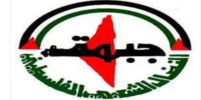جبهة النضال الشعبي الفلسطيني تستنكر العدوان الإسرائيلي على محيط دمشق