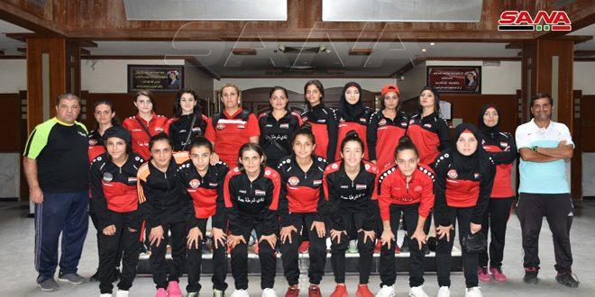 طموحات كبيرة لسيدات شرطة حماة لإحراز لقب بطولة الدوري بكرة القدم