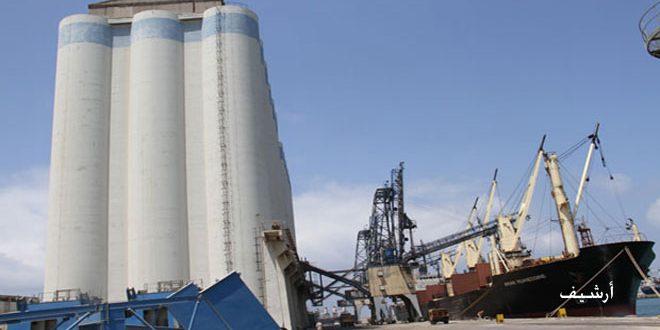 شحن نحو 470 ألف طن من القمح من صومعة طرطوس المرفئية إلى المحافظات خلال 6 أشهر