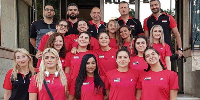 منتخب سورية بكرة السلة للسيدات يخسر أمام نظيره اللبناني ببطولة غرب آسيا