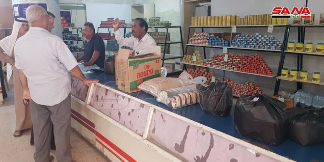 السورية للتجارة بالحسكة… ركنٌ رئيسي في الحفاظ على توازن الأسعار وتوفير السلع – S A N A