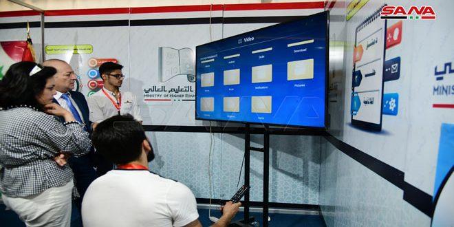 مشاركون في المعرض السادس للتعليم العالي: فرصة للتعريف بخدمات المؤسسات التعليمية وتعزيز التعاون مع الجامعات السورية
