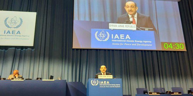 """الصباغ: إلزام """"إسرائيل"""" بالانضمام لمعاهدة عدم الانتشار النووي وإخضاع منشآتها لتفتيش وكالة الطاقة الذرية"""