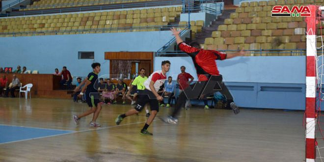 فريق النواعير يحرز لقب بطولة دوري كرة اليد للناشئين