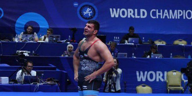 برونزية لـ إيران في بطولة العالم بالمصارعة الحرة