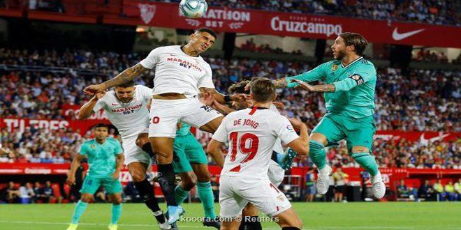 ريال مدريد يفوز على إشبيلية بهدف وحيد في الدوري الإسباني