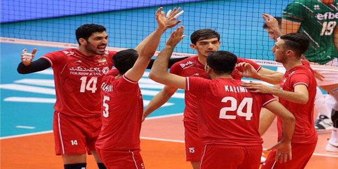 إيران تتأهل إلى نهائي بطولة آسيا لكرة الطائرة