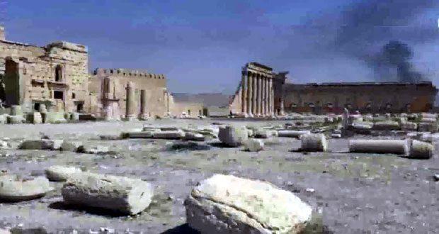 ترميم وتأهيل معبد بعل شمين الأثري في تدمر مطلع تشرين الثاني المقبل