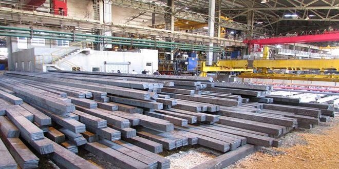 شركة الحديد تحدد سعر طن البيليت بـ 320 ألف ليرة سورية